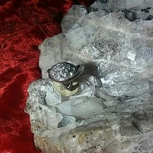 Shuai jun silver ring size 16